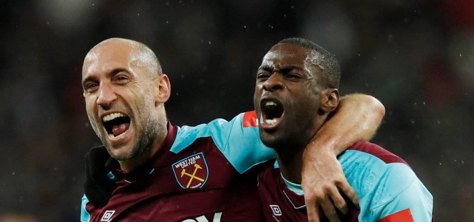 Revealed: Majority of West Ham fans don't want club to sell Pedro Obiang