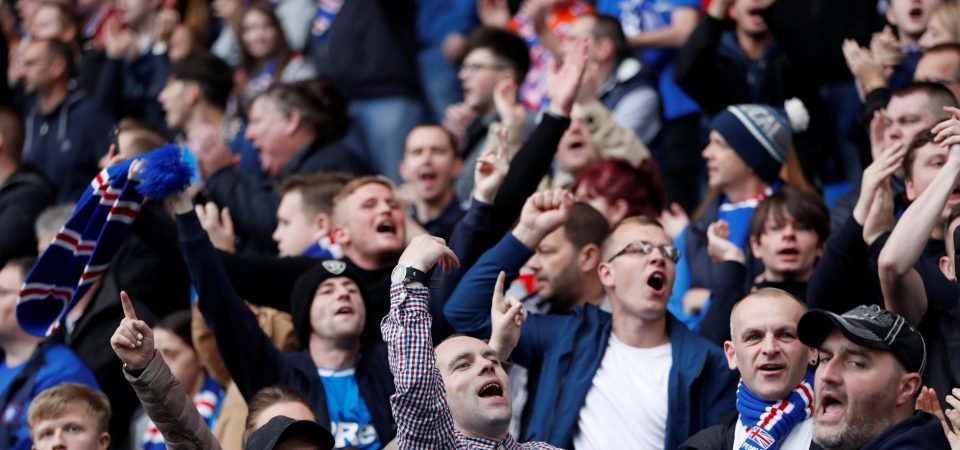 Rangers fans react as UEFA announce partial Ibrox closure