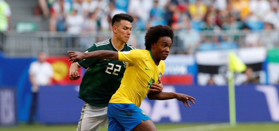 Tottenham should attempt to sign Willian again after latest Brazil display