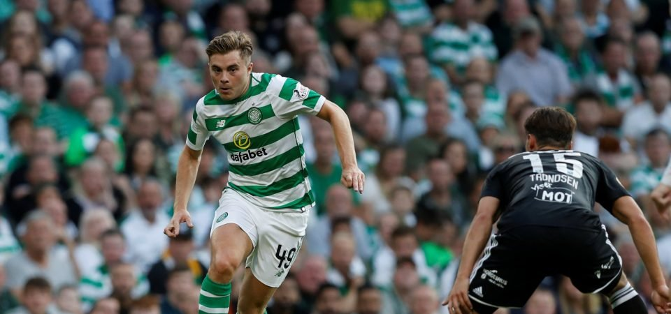 Celtic fans react as James Forrest is linked to Zenit St. Petersburg