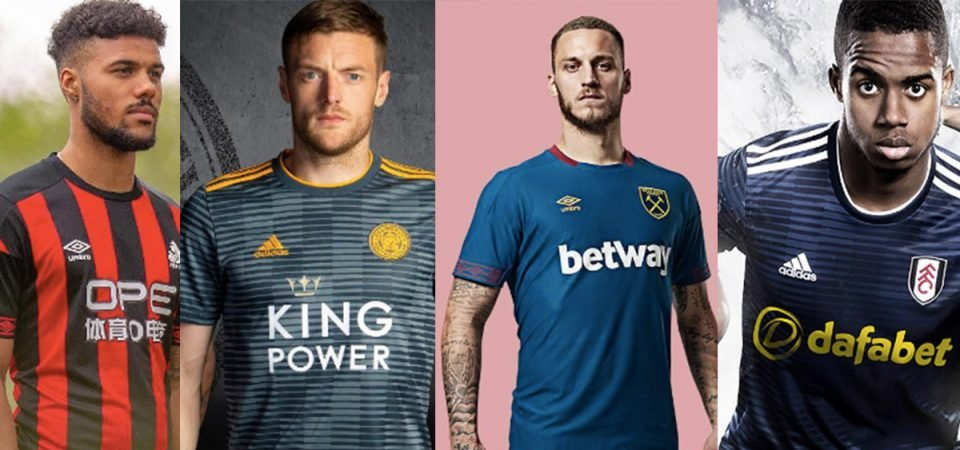 2018/19 Premier League Away Shirt Power Rankings