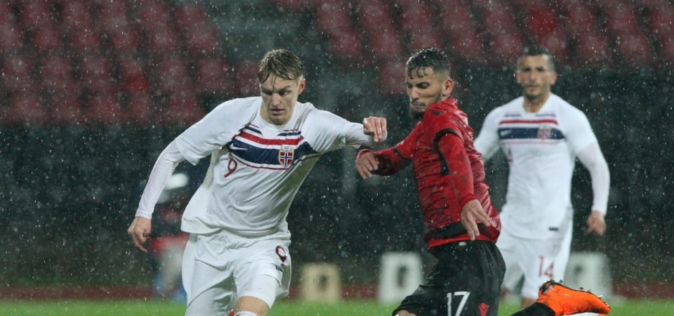 Middlesbrough fans mixed over Odegaard reports