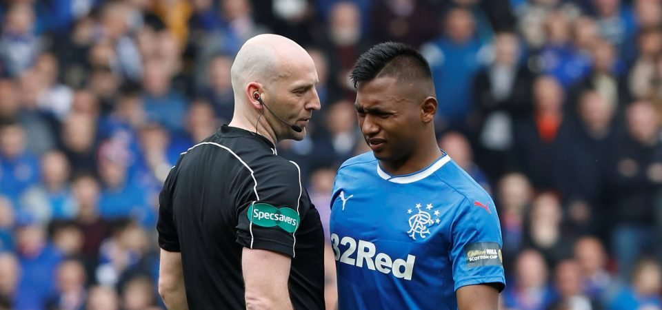 Rangers fans want Morelos dropped after Europa red card