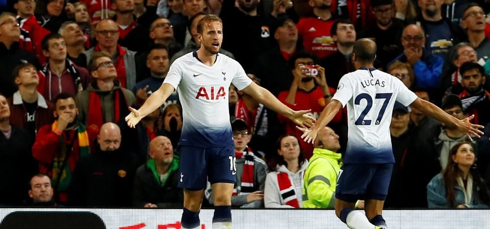 Tottenham fans rally behind Harry Kane after Champions League draw