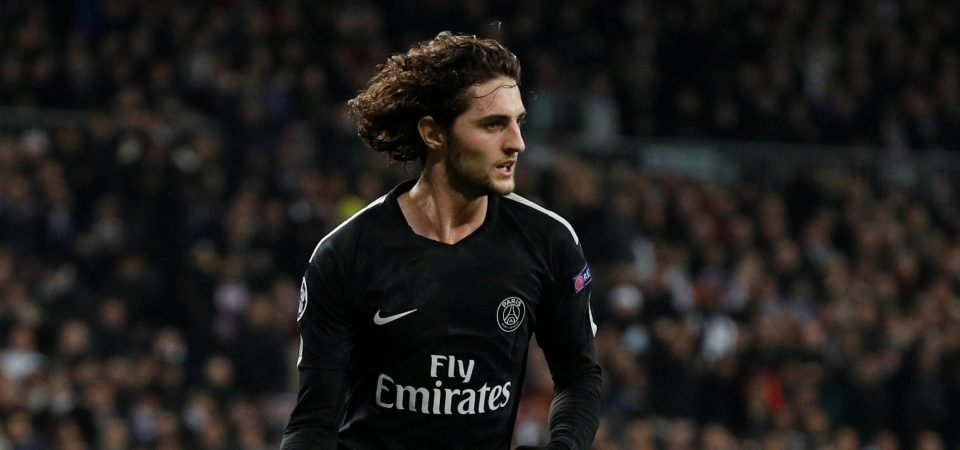Tottenham fans react to Adrien Rabiot speculation