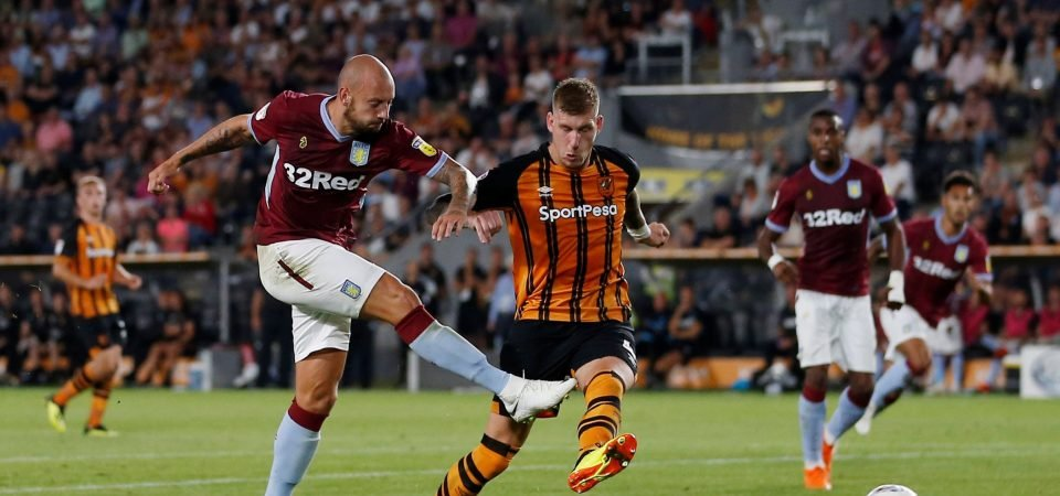 Hutton's performance against Hull was his best in seven years at Aston Villa