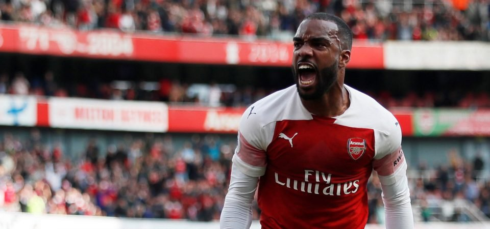Arsenal would be crazy to let Lacazette go