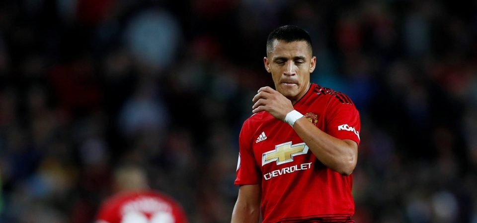 Alexis Sanchez has been missing this season according to Manchester United fans