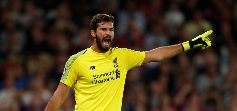 Liverpool fans stunned by Alisson performance vs Brighton