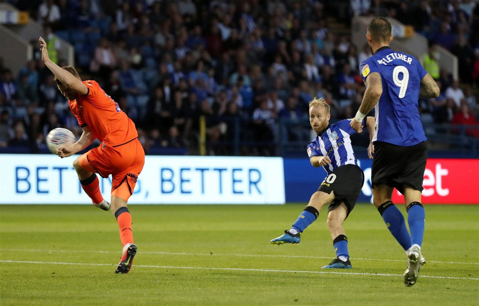 Barry Bannan scores for Sheffield Wednesday