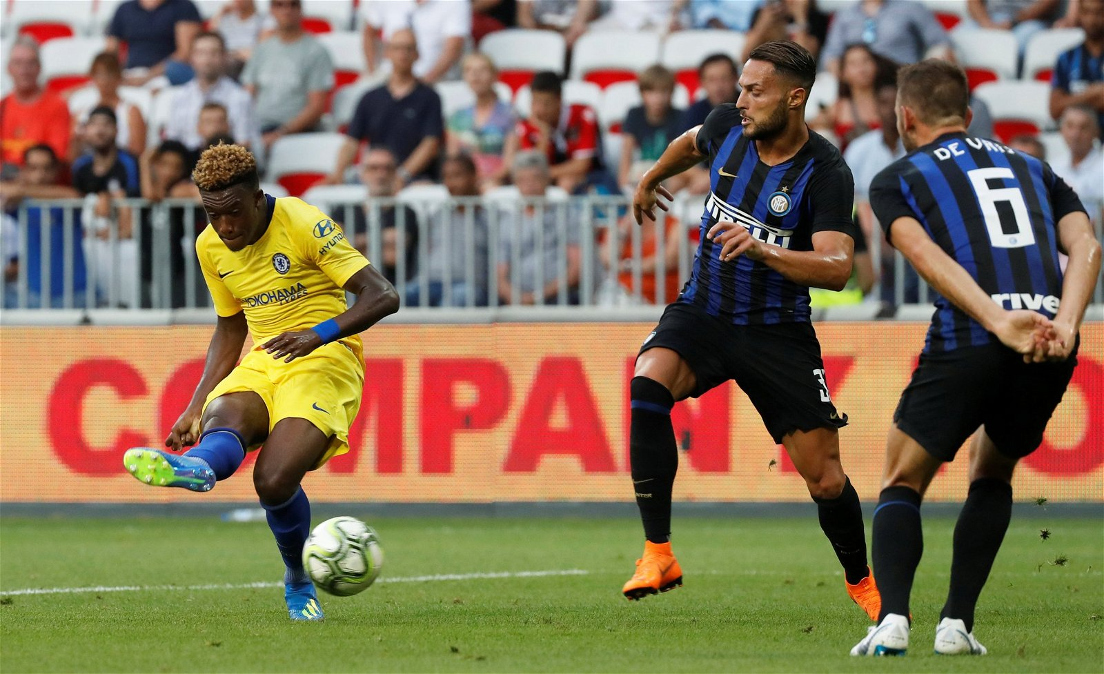 Callum Hudson-Odoi for Chelsea vs Inter Milan