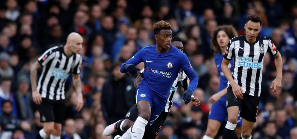 Chelsea fans fuming after Callum Hudson-Odoi omission from Europa League team
