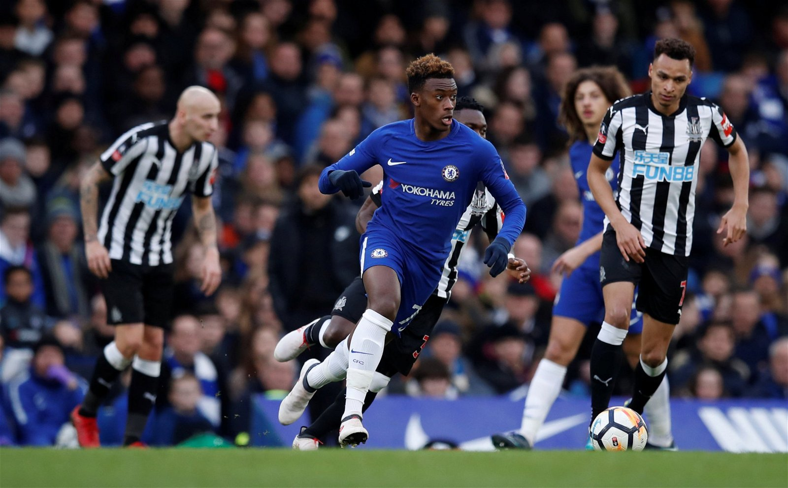 Callum Hudson-Odoi's debut for Chelsea