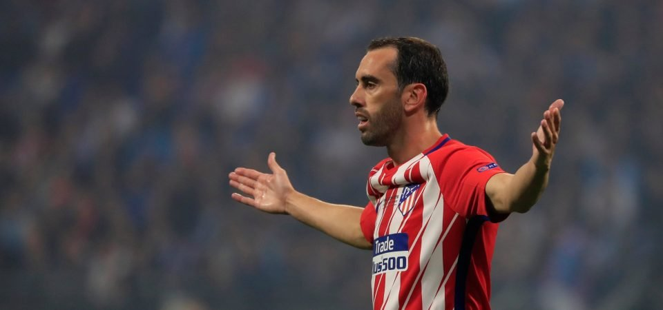 These Manchester United fans weren't happy to miss out on Diego Godin