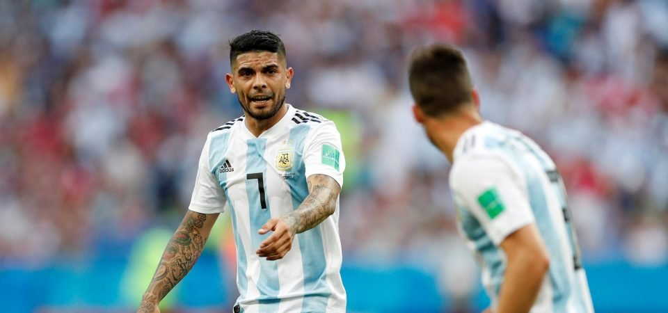 Arsenal prioritise Banega after shake-up in hierarchy