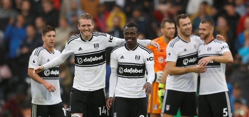 Fulham fans are in a jubilant mood following first win of the season