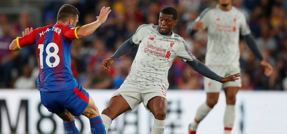 Revealed: Majority of Liverpool fans want Wijnaldum to keep place vs Leicester