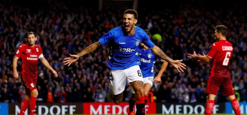 Rangers fans hated Goldson's performance vs Hibs
