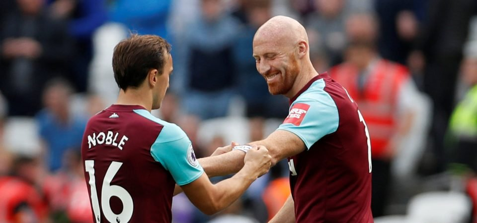 West Ham fans react to update on James Collins future