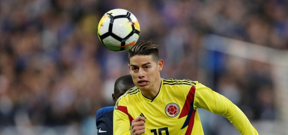 Liverpool fans desperately want to sign James Rodriguez