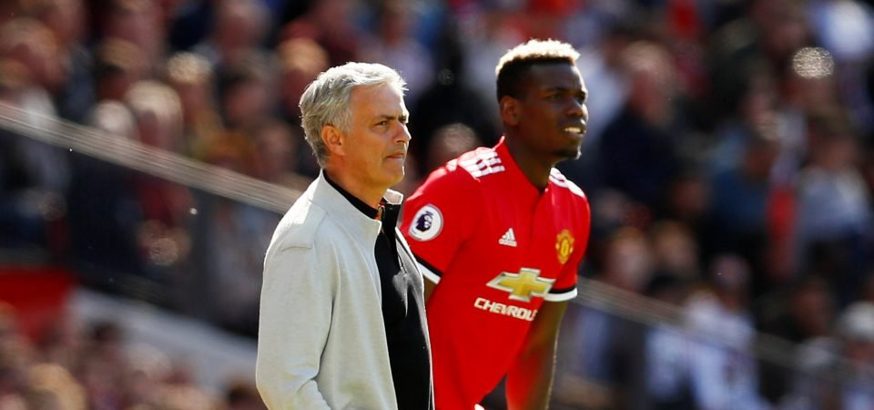Manchester United fans react to reported Pogba/Mourinho clash