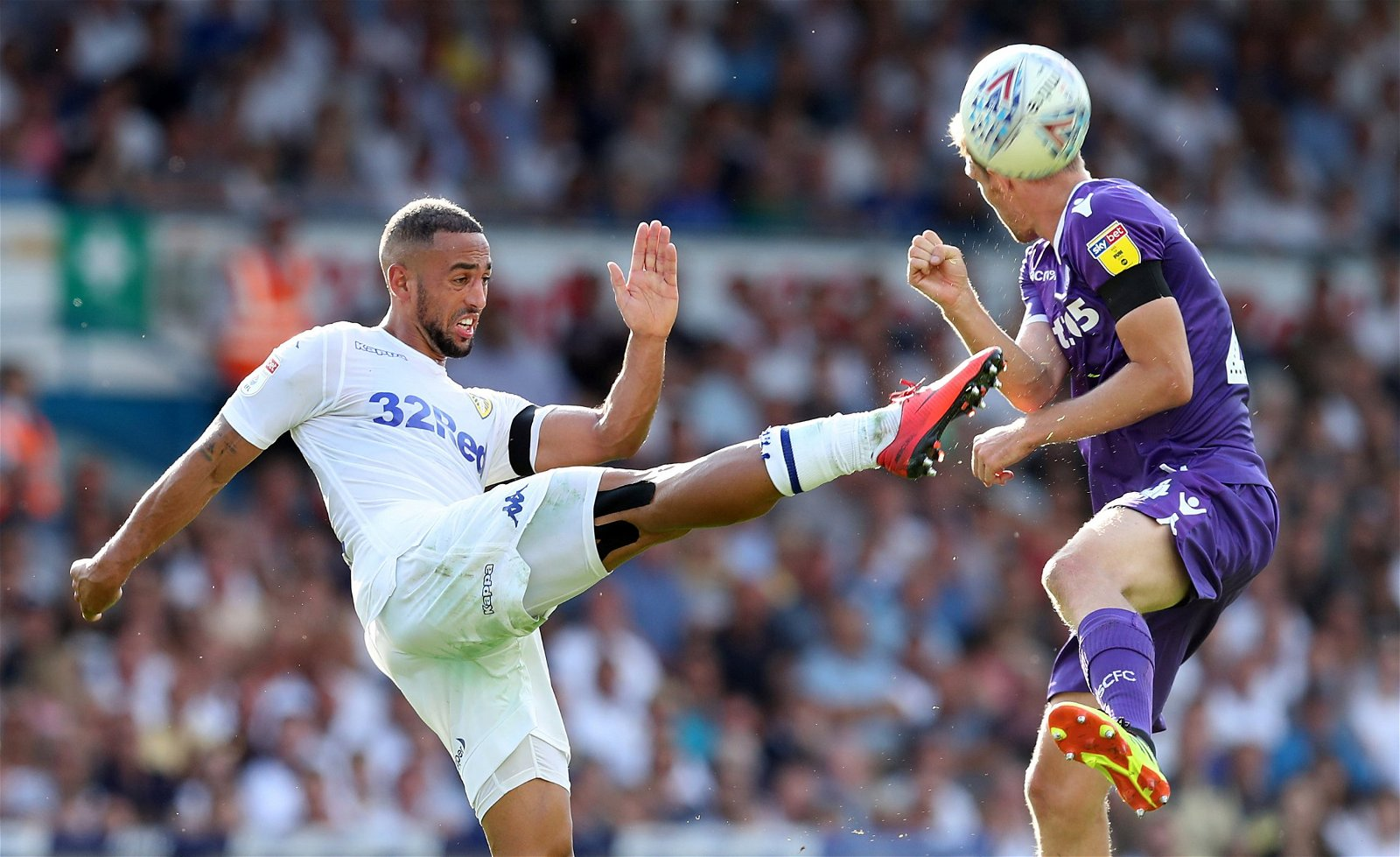 Kemar Roofe for Leeds vs Stoke in the Championship