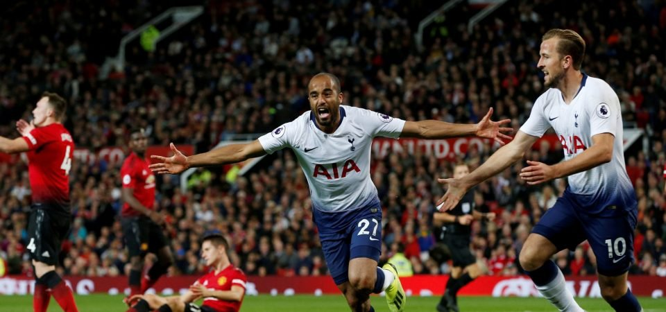 Lucas Moura's performance vs United was what Spurs have been missing since Bale