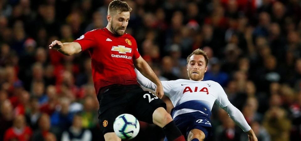 Luke Shaw performance the biggest positive from Man United's humbling loss to Tottenham