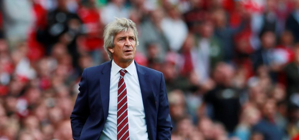 West Ham suffering the consequences of Pellegrini's push for revolution instead of evolution