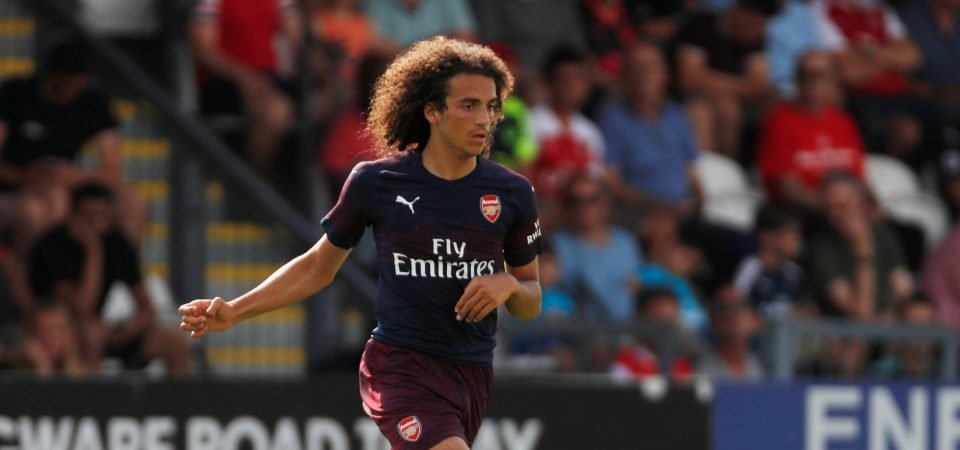 Guendouzi suspended for Arsenal this weekend, Liverpool fans react