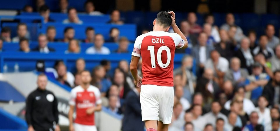 Revealed: Arsenal fans divided over Ozil's place in the team