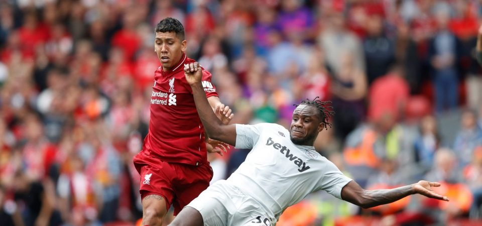West Ham must sell Michail Antonio to a European club after Liverpool display