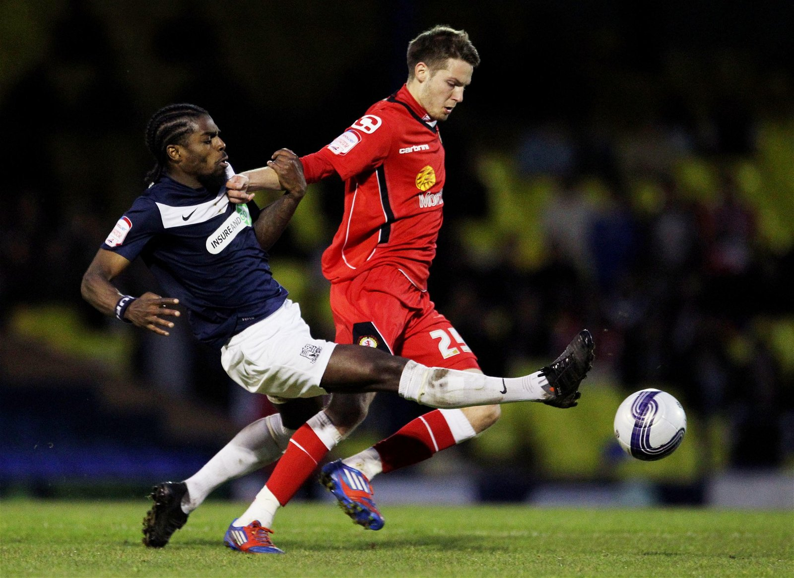 Nick Powell for Crewe Alexandra