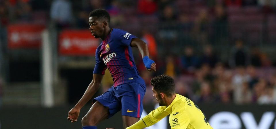 Arsenal fans convinced Dembele will sign following reports of Barcelona's Pogba interest