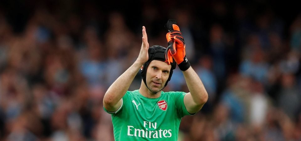 Arsenal supporters push for Cech to be dropped after commitment to Chelsea