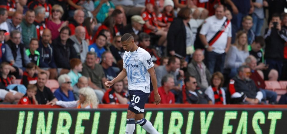 Everton fans heap praise on Richarlison for red card apology
