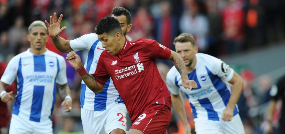 Liverpool fans worried about Firmino playing for Brazil during international break