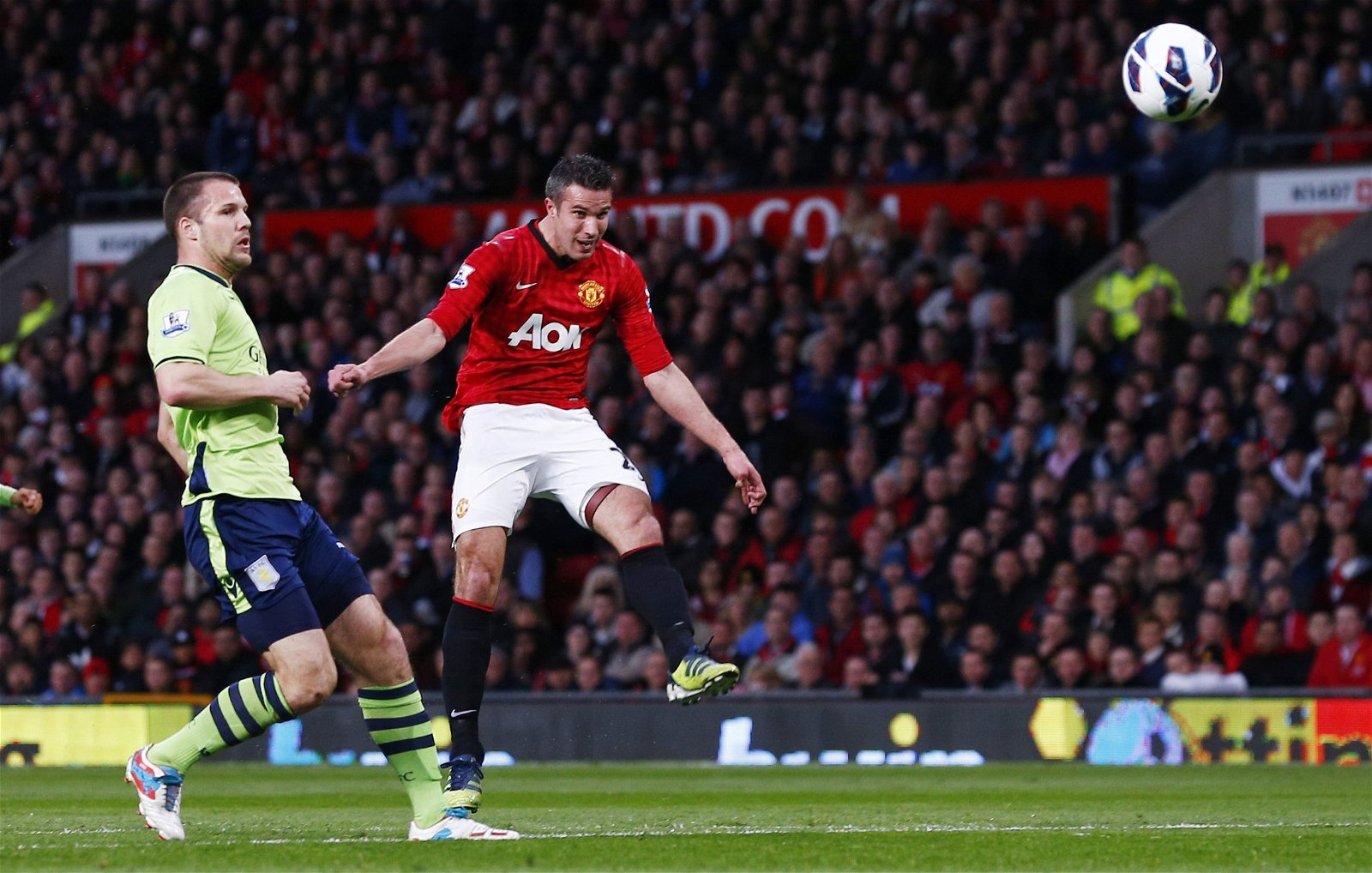 The Strike: Robin Van Persie's volley was Man United's last truly great moment