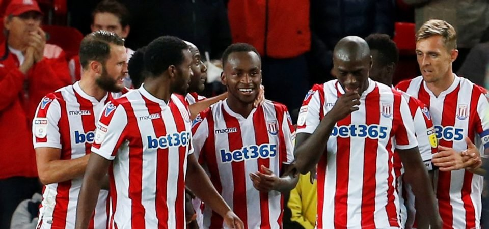 Stoke City fans praise Berahino as he scores first goal in two-and-a-half years