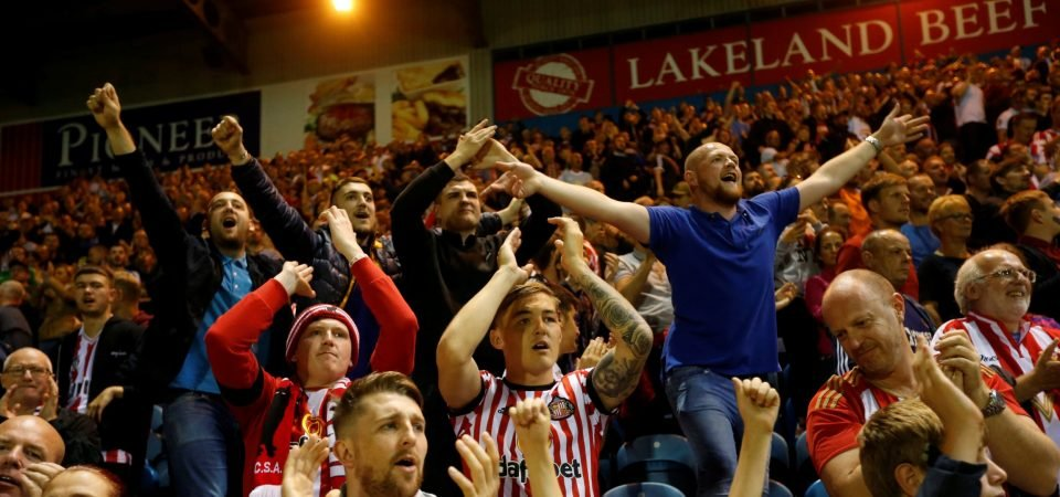 Sunderland fans bash Newcastle as Magpies toil in relegation zone