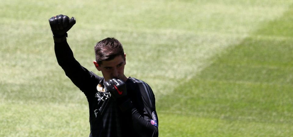 Chelsea fans prove there is no love lost as Courtois completes Real Madrid move