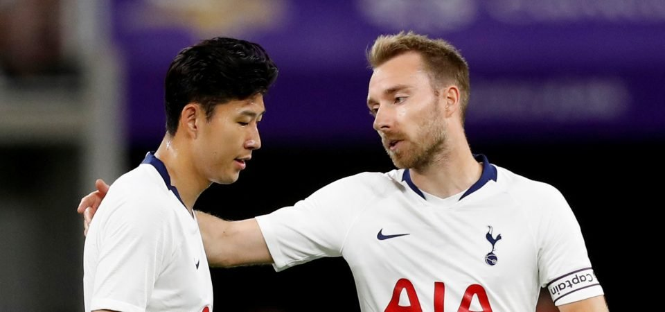 PSG issue statement denying interest in Tottenham star Eriksen