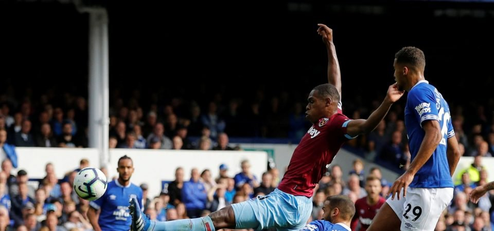 West Ham fans delighted with Issa Diop form