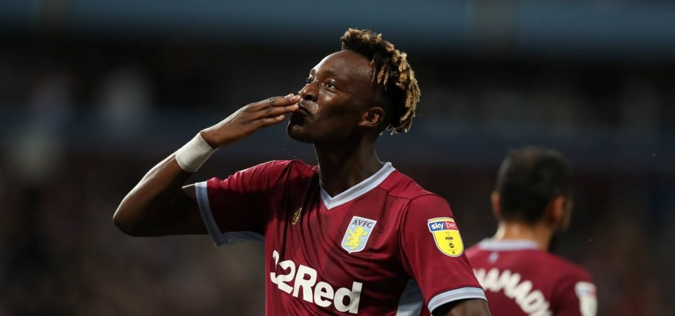 Aston Villa fans pay tribute to Tammy Abraham