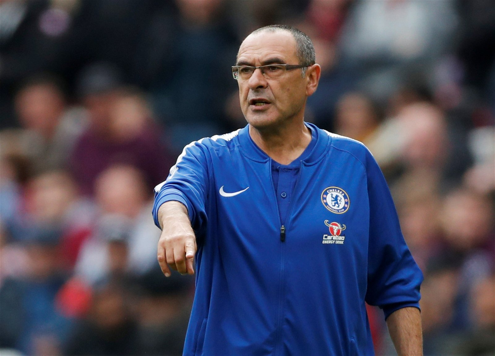 2018 09 23T130121Z 477903783 RC1AC23AC8A0 RTRMADP 3 SOCCER ENGLAND WHU CHE - Opinion: Sarri needs to fully trust rotation option who will help Hazard & Higuain thrive