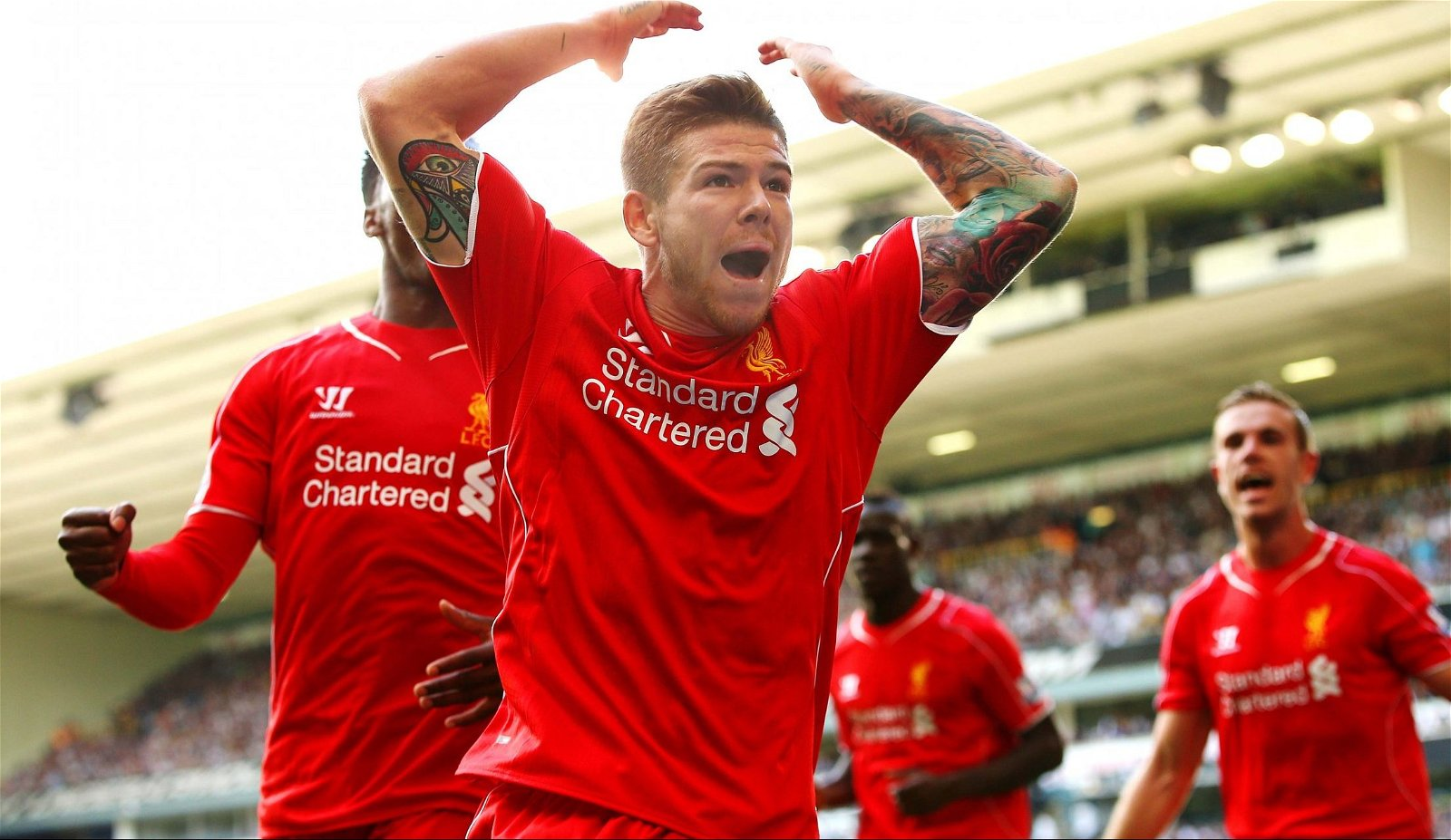 The Strike: Liverpool's squad has come a long way since Alberto Moreno's wonder goal against Spurs in 2014