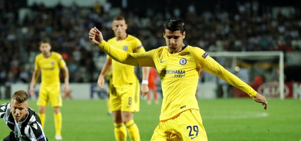 Morata linked with return to Juventus, Chelsea fans react