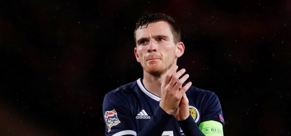 Liverpool fans react to Robertson's assist for Scotland in Albania clash