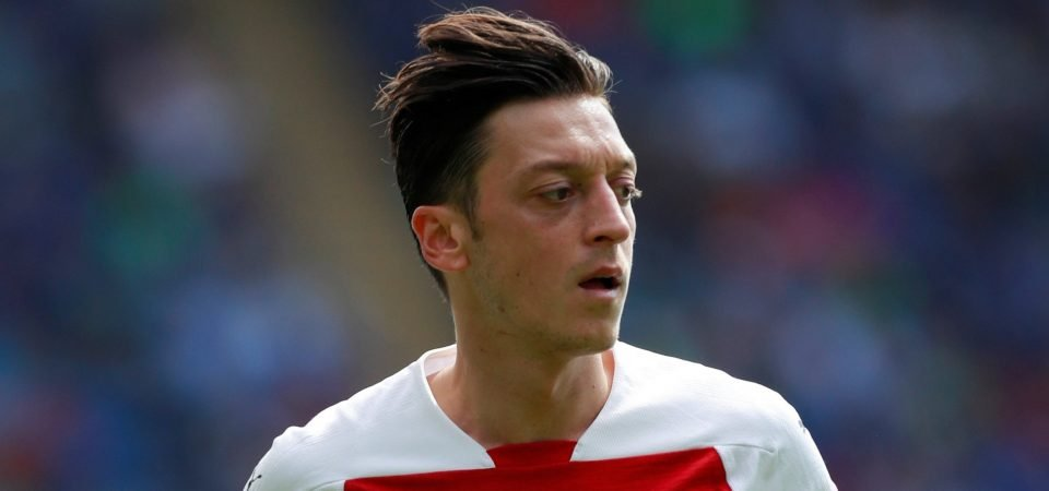 Arsenal fans tweet praise for Ozil on five-year anniversary