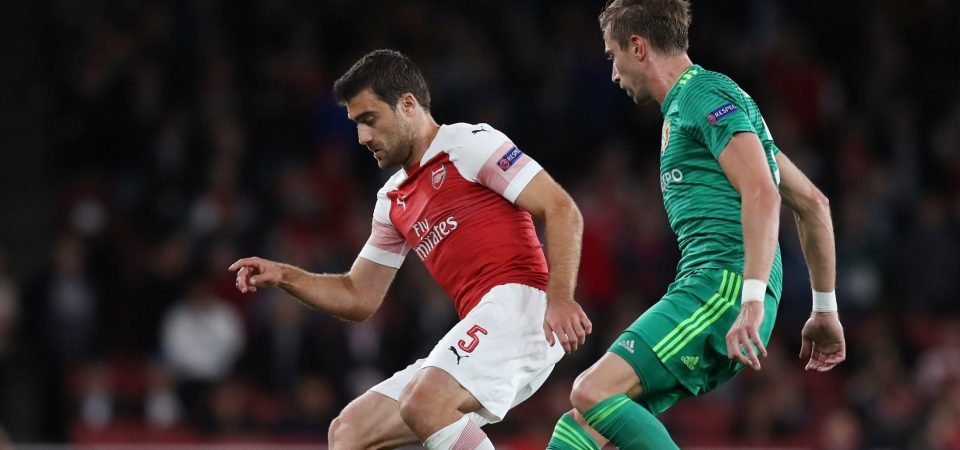 Sokratis Papastathopoulos growing on Arsenal fans